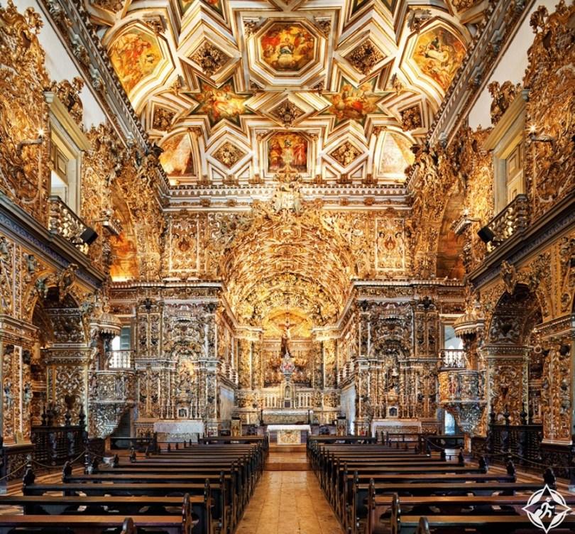المعالم السياحية في سالفادور - كنيسة ساو فرانسيسكو