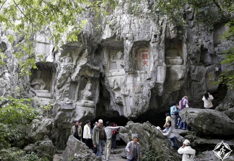 المعالم السياحية في هانغتشو - معبد لينغين