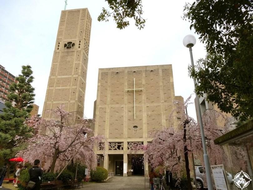 المعالم السياحية في هيروشيما- كاتدرائية السلام العالمي التذكارية