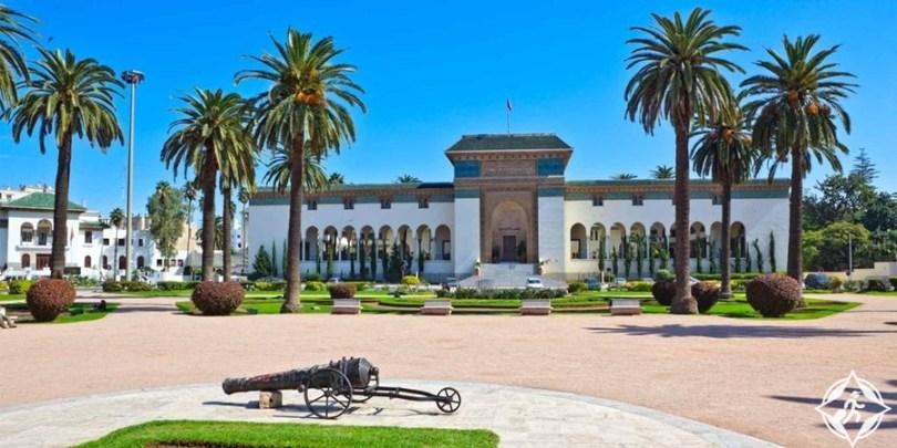 المعالم السياحية في الدار البيضاء - ساحة محمد الخامس