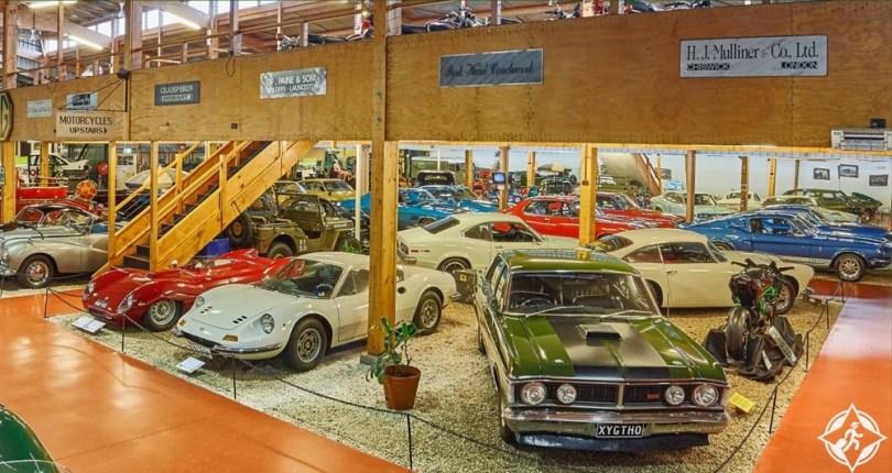 المعالم السياحية في لونسيستون - المتحف الوطني للسيارات في تاسمانيا