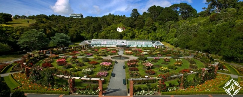 المعالم السياحية في ولينغتون - حدائق ويلينغتون النباتية