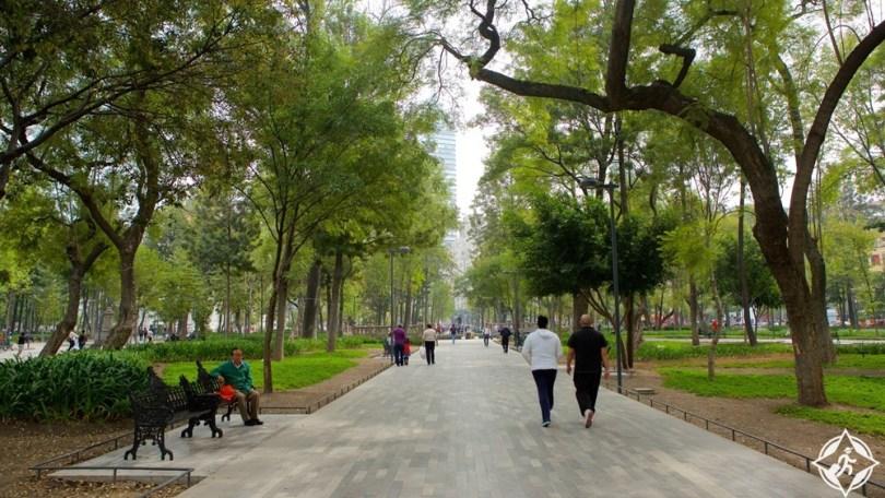 مكسيكو سيتي - حديقة ألامدا سينترال