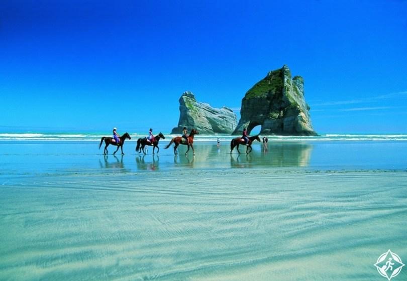 السياحة في نيوزيلندا - حديقة أبيل تسمان الوطنية