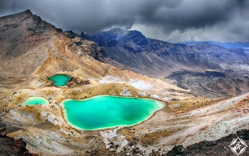 السياحة في نيوزيلندا - حديقة تونغاريرو الوطنية