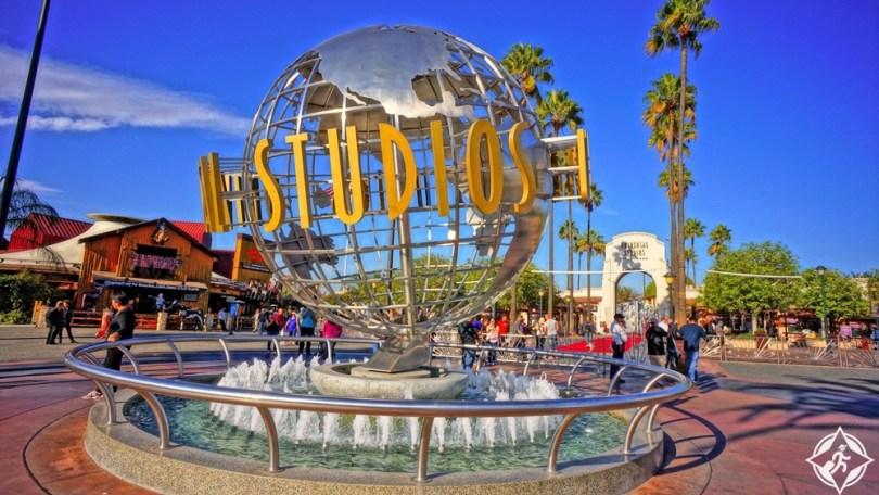المعالم السياحية في لوس أنجلوس - استوديوهات هوليوود العالمية