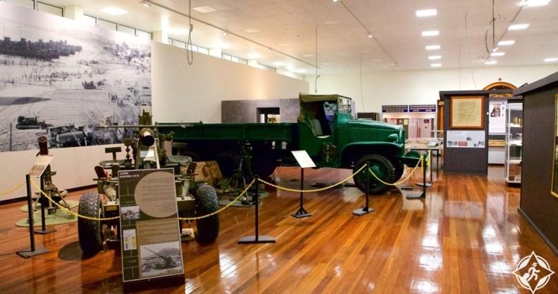 المعالم السياحية في تاونزفيل - متحف الجيش شمال كوينزلاند