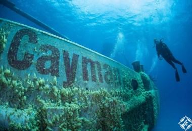 جزر كايمان - الغوص