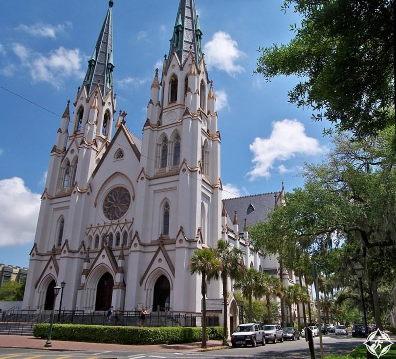 سافانا - كاتدرائية القديس يوحنا المعمدان