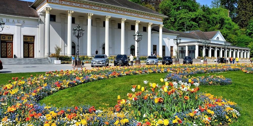 بادن بادن - حديقة سبا