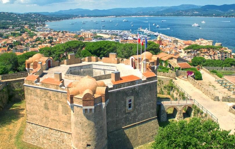 سان تروبيه - القلعة