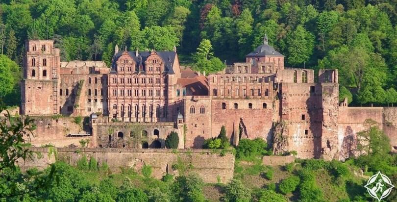 هايدلبرغ - قلعة هايدلبرغ