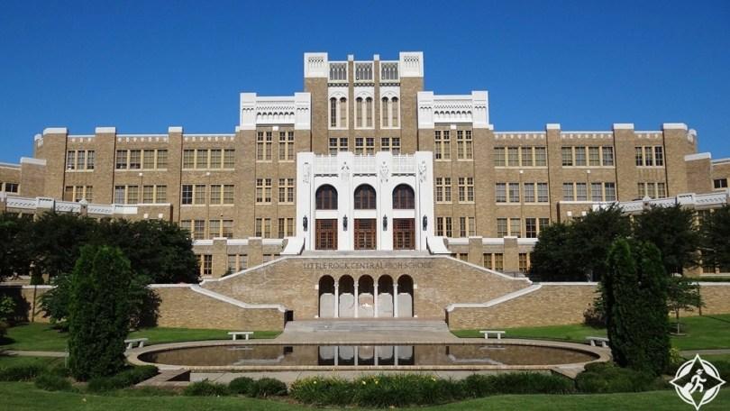 أركنساس - مدرسة ليتل روك سنترال الثانوية الوطنية