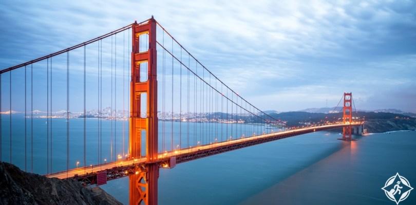 كاليفورنيا - جسر البوابة الذهبية