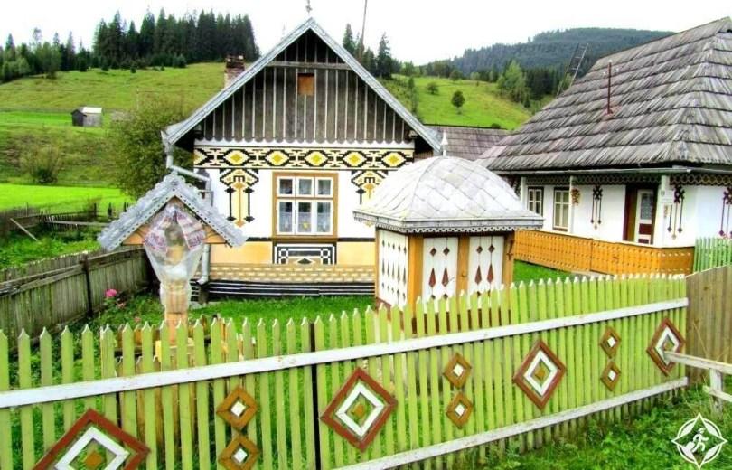 سوتشافا - متحف قرية بوكوفينا