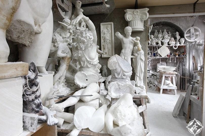 فولتيرا - متحف المرمر ايكو