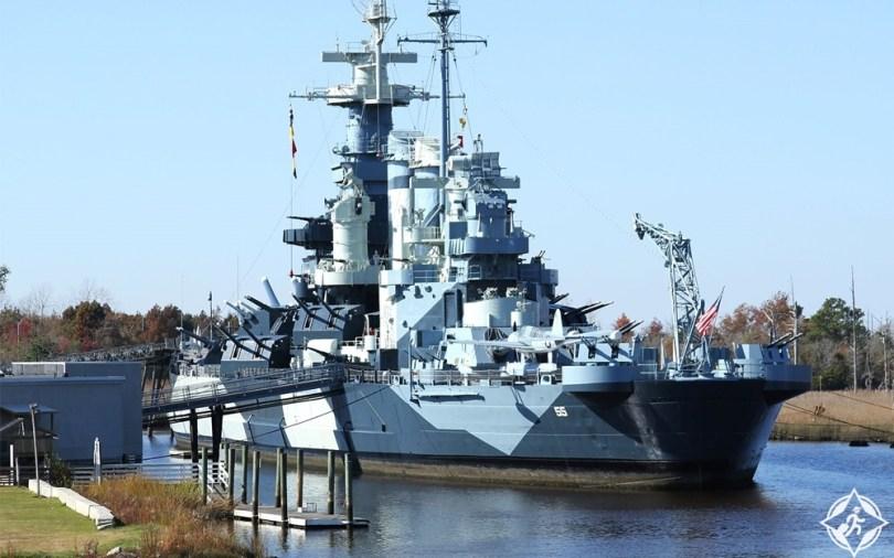 كارولاينا الشمالية - سفينة كارولاينا الشمالية الحربية