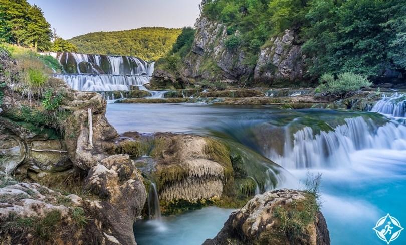 كرواتيا - شلال سترباكى بوك
