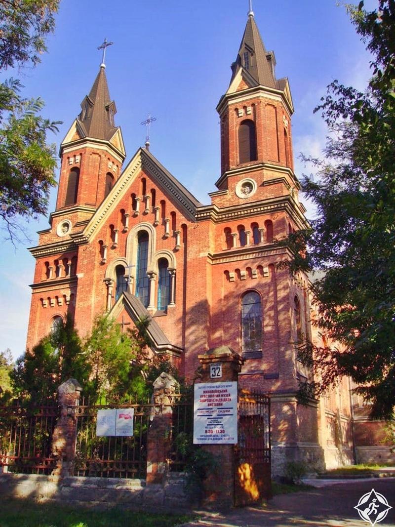 ميكولايف - كنيسة القديس يوسف الكاثوليكية