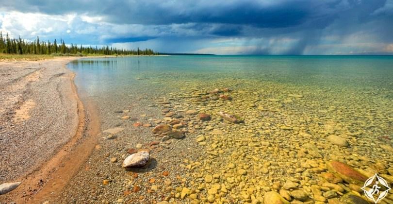 أكبر البحيرات في العالم - بحيرة الدب العظيم
