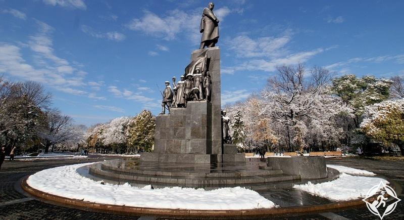 خاركيف - حدائق تاراس شيفشينكو