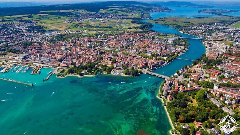 البحيرات في سويسرا - بحيرة كونستانس