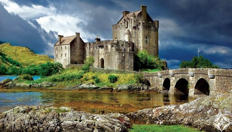 القلاع في اسكتلندا - قلعة إلين دونن