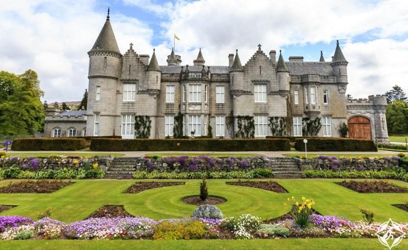 القلاع في اسكتلندا - قلعة بالمورال