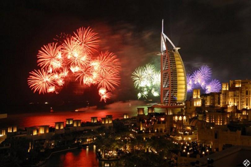 برج العرب احتفال رأس السنة