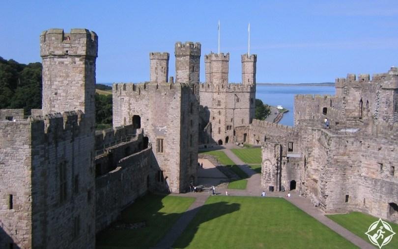 ويلز - قلعة كايرنارفون