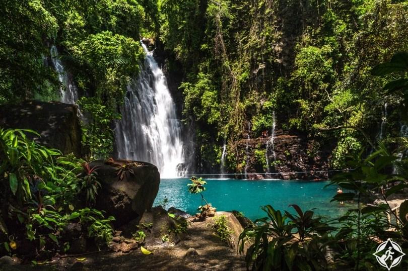 الشلالات في الفلبين - شلالات تيناغو