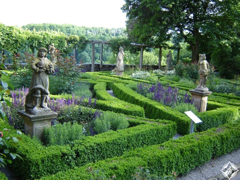 روتنبورغ أب دير تاوبر - حدائق القلعة
