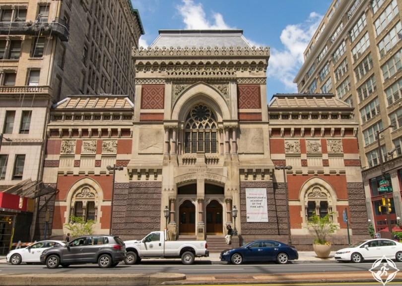 فيلادلفيا - متحف الفنون الجميلة