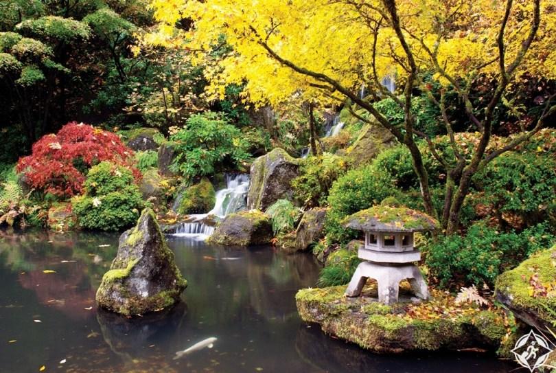بورتلاند - حديقة بورتلاند اليابانية
