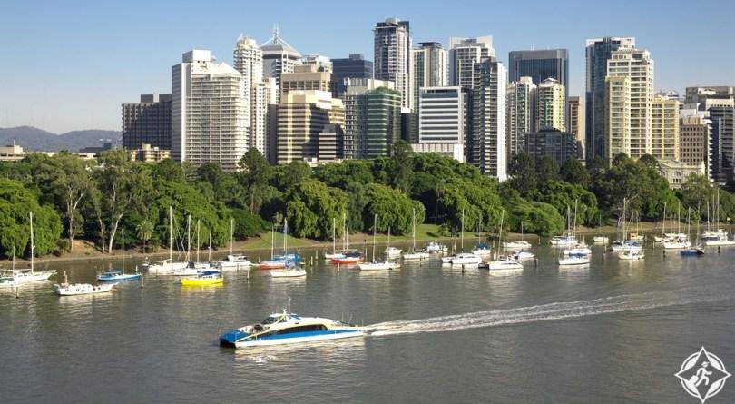 بريسبان - رحلات النهر