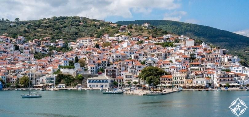جزيرة سكوبيلوس - بلدة سكوبيلوس