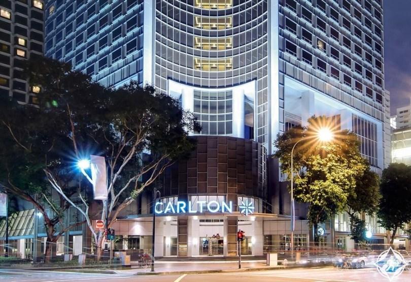 الفنادق الفاخرة في سنغافورة - ريتز كارلتون سنغافورة