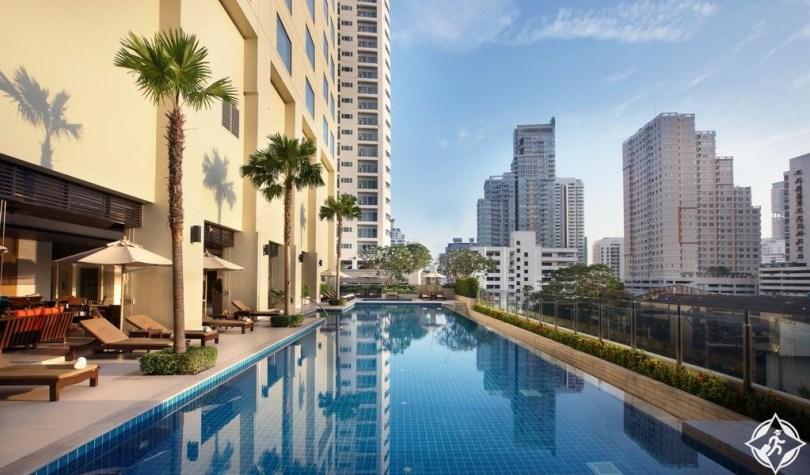 الفنادق في بانكوك - شقق ماريوت التنفيذية سوخومفيت بارك