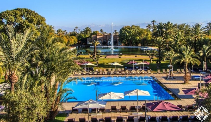 الفنادق في مراكش - فندق وسبا بولمان مراكش بالميراي