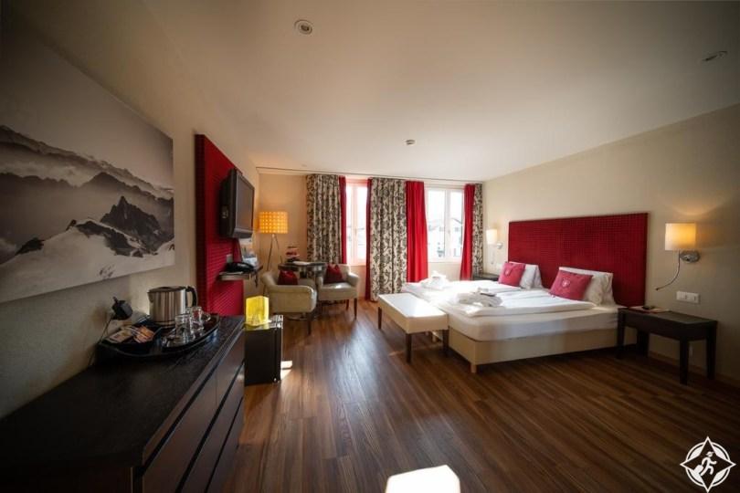 الفنادق في إنترلاكن - فندق كريبس إنترلاكن