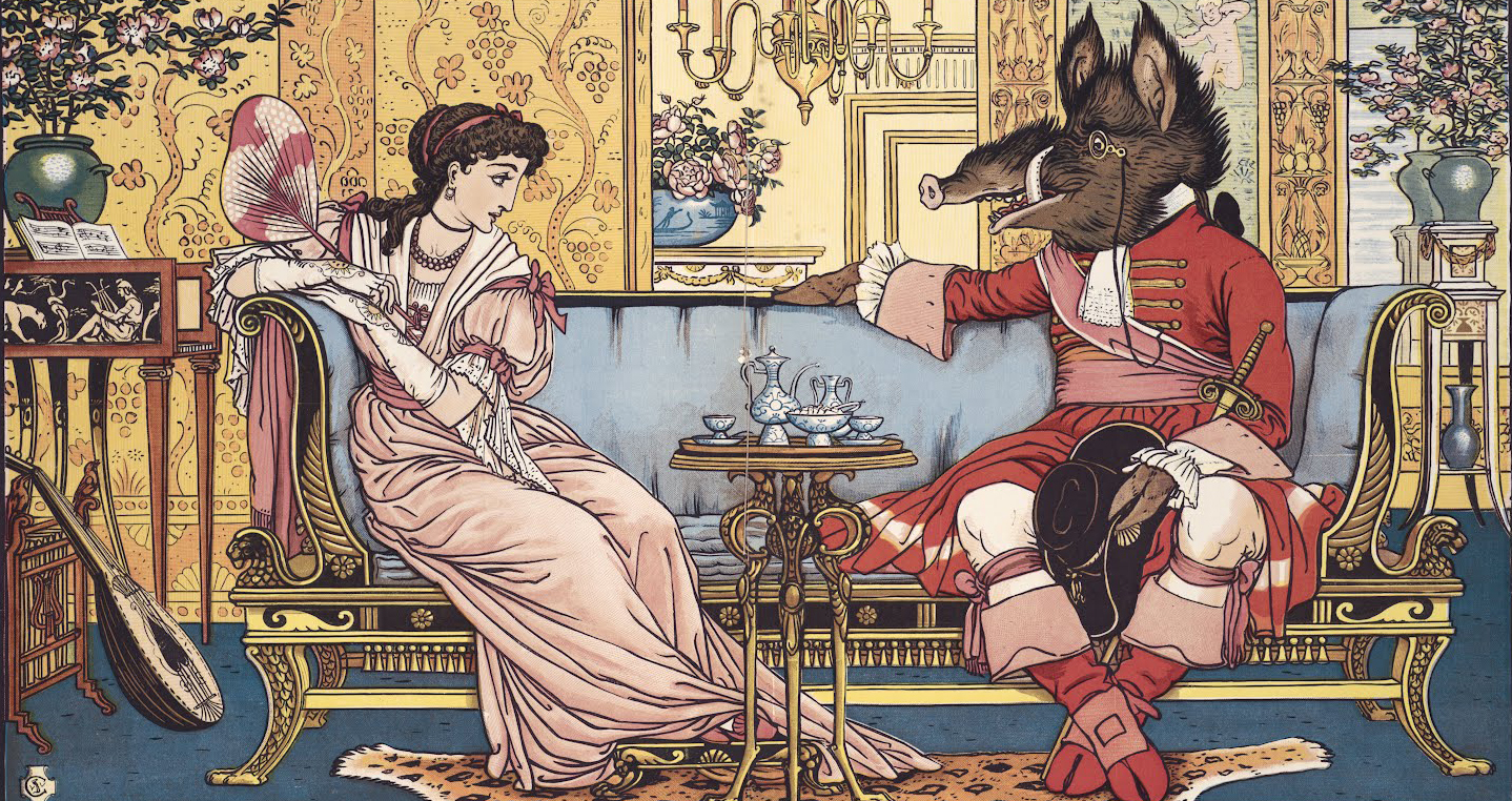 Crane, Beauty and the Beast (London: George Routledge and Sons, 1875)