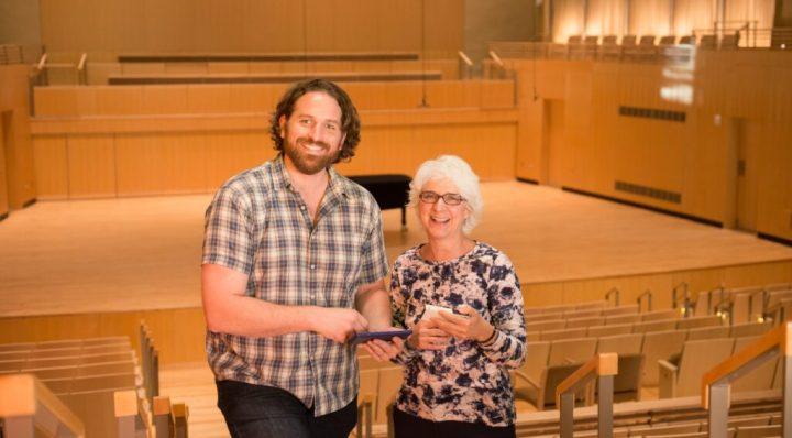 Linda Dusman and Eric Smallwood, creators of the Octava app, an MII awardee