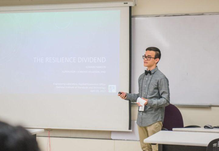 Edward Hanson presents at URCAD 2017.