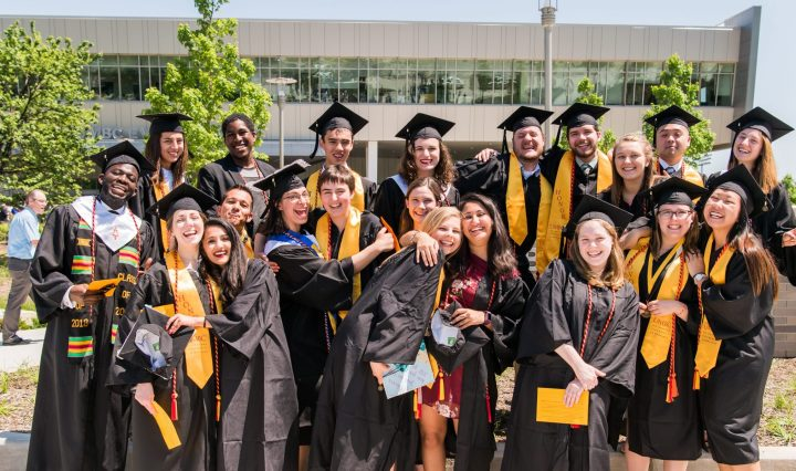 CWIT Scholars at UMBC Commencement