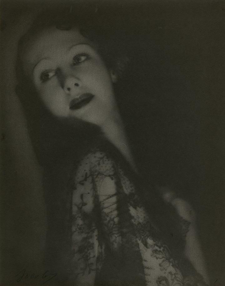 Lotte Jacobi, Marlene Dietrich, 1929 Platinum print, Accession no. P2013-31-014, Gift of Louis Klaitman