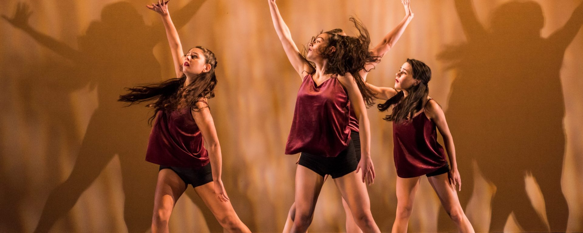 Petasis '19 at UMBC's fall Senior Dance Concert. Photo by Marlayna Demond '11.