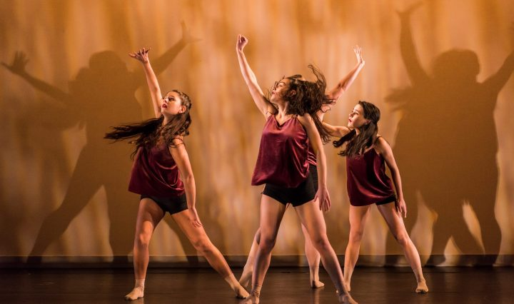 Petasis '19 at UMBC's fall Senior Dance Concert. Photo by Marlayna Demond '11.