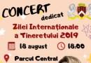 Primăria Ungheni organizează un concert dedicat Zilei Internaționale a Tineretului 2019