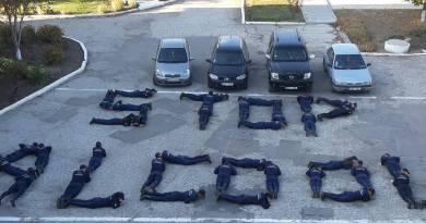 """Poza zilei // Studenții CESF Ungheni s-au alăturat campaniei """"Stop alcool la volan"""""""