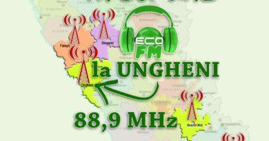 Primul post de radio ecologic – Eco FM, va difuza programele sale și în raionul Ungheni